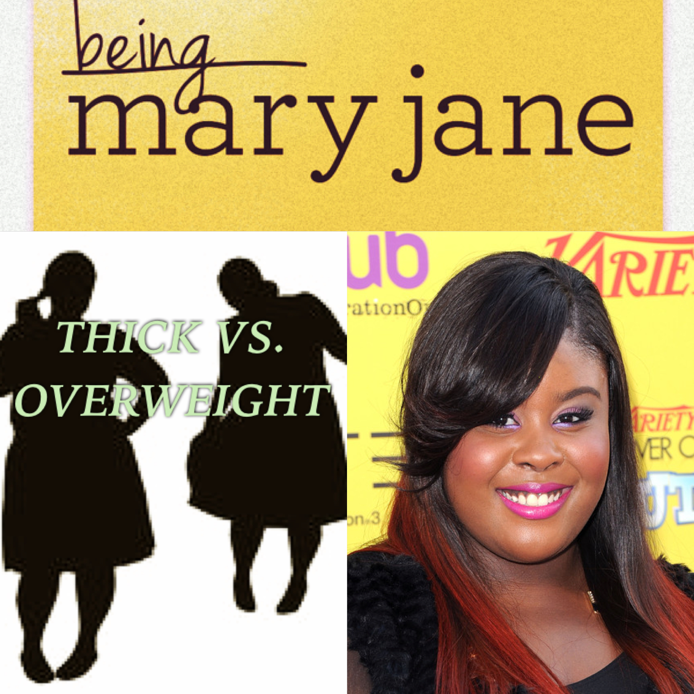 Being Mary Janes Views On Thick I AGREE Vs