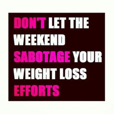 Weekend Sabotage
