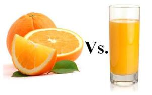 Fruit vs. Juice